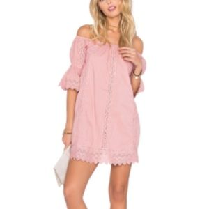 Tularosa Isabella Dress in Pink